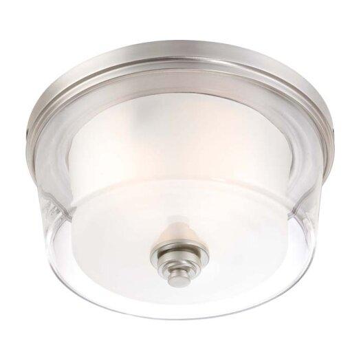 Nuvo Lighting Decker 3 Light Flush Mount