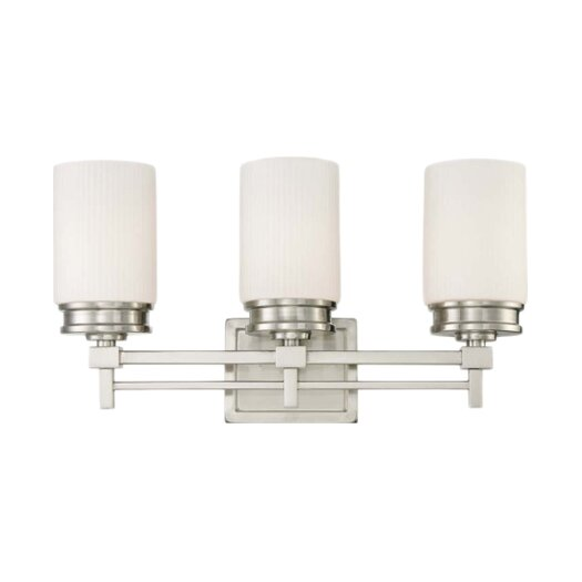 Nuvo Lighting Wright 3 Light Bath Vanity Light