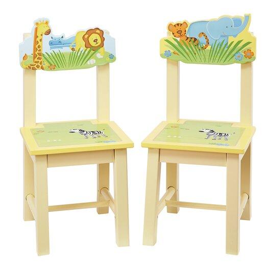 Guidecraft Savanna Smiles Kids Desk Chair
