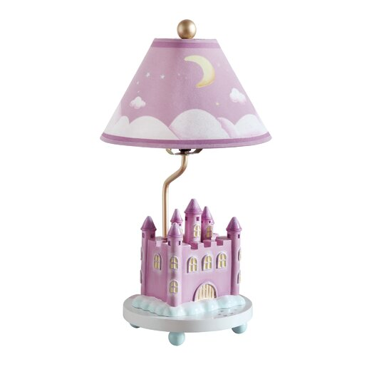 """Guidecraft Princess 18"""" H Table Lamp with Empire Shade"""