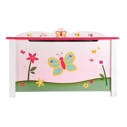 Guidecraft Butterfly Buddies Toy Box