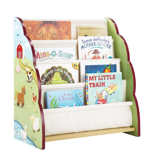 Guidecraft Farm Friends Book Display