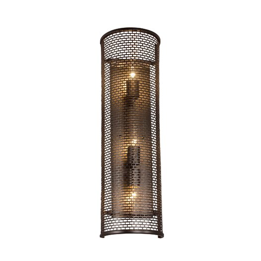 Varaluz Lit-Mesh Test 3 Light Wall Sconce