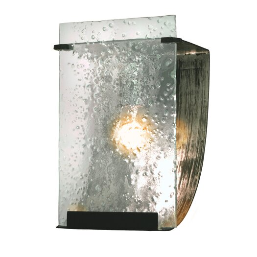 Varaluz Rain 1 Light Recycled Bath Light