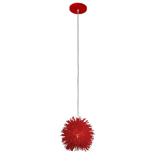 Varaluz Urchin 1 Light Foyer Globe Pendant