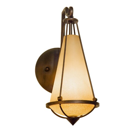 Varaluz Two-if-by-sea 1 Light Recycled Wall Sconce