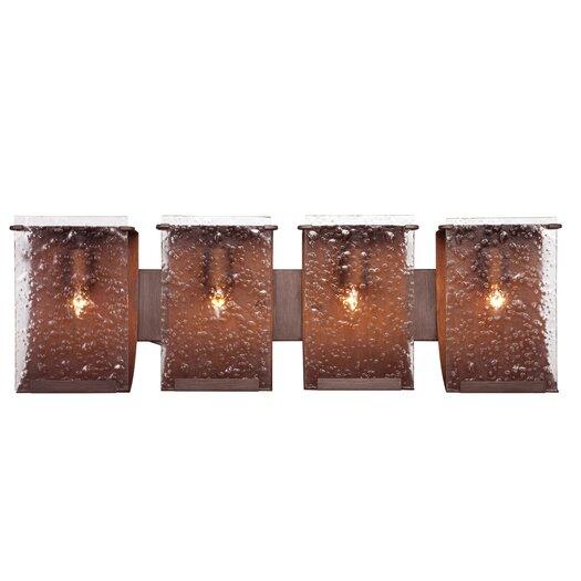 Varaluz Recycled Rain Bath Light - Four Light
