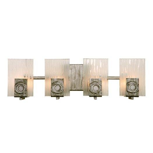 Varaluz Polar Recycled 4 Light Bath Vanity Light