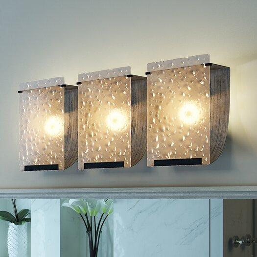 Varaluz Rain Recycled 3 Light Bath Vanity Light
