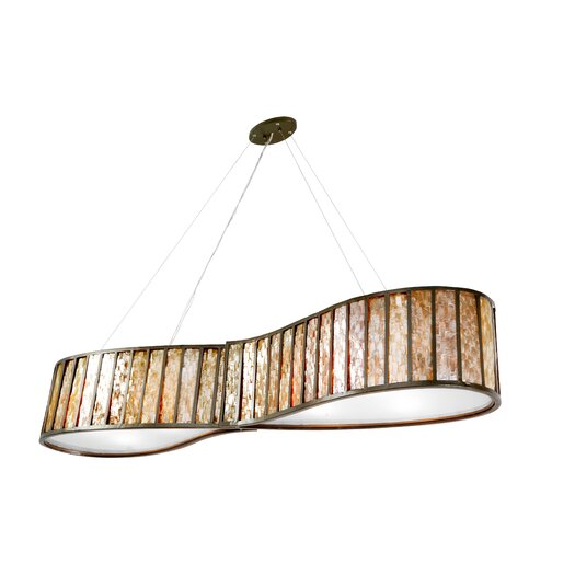 Varaluz Affinity 6 Light Drum Foyer Pendant