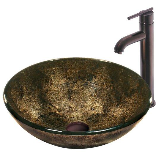 Vigo Tempered Glass Bathroom Sink