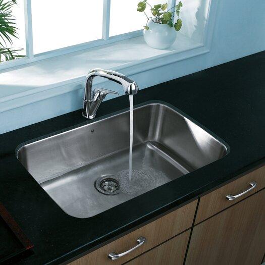 """Vigo 30"""" x 18"""" Undermount Kitchen Sink"""