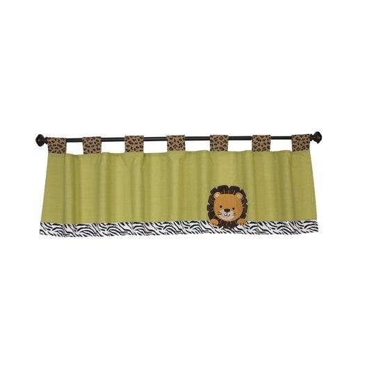 """NoJo Zambia 60"""" Curtain Valance"""