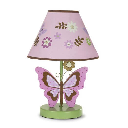 """NoJo Emily 11"""" H Table Lamp with Empire Shade"""