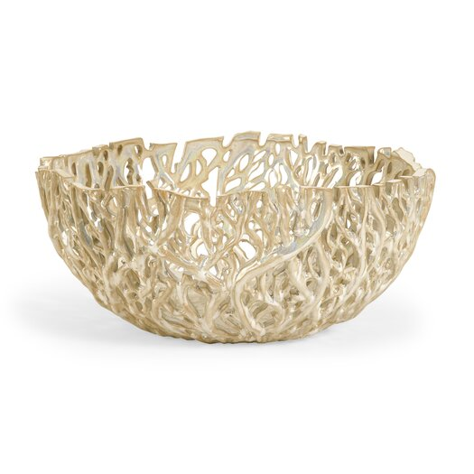 IMAX Vargas Cutwork Decor Fruit Bowl