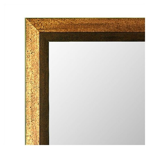 Hitchcock Butterfield Company Mirror in Umber Copper Gold