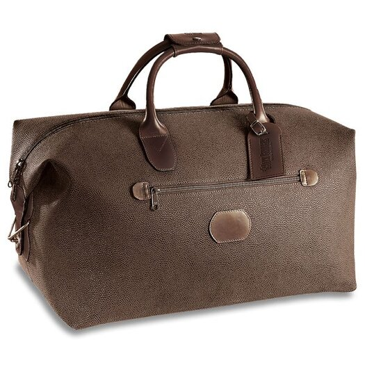 """Jack Georges Nevada 19"""" Leather Carry-On Duffel"""