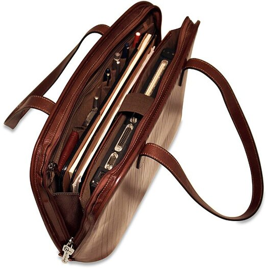Jack Georges Monserrate Large 3-Way Zip Business Tote Bag
