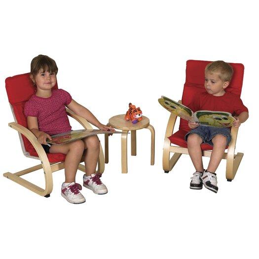 ECR4kids 3 Piece Kids Table & Chair Set