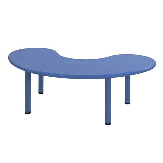 "ECR4kids 65"" x 35"" Kidney Classroom Table"