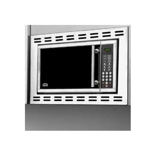Summit Appliance 0.9 Cu. Ft. 900W Built-In Microwave in Stainless Steel