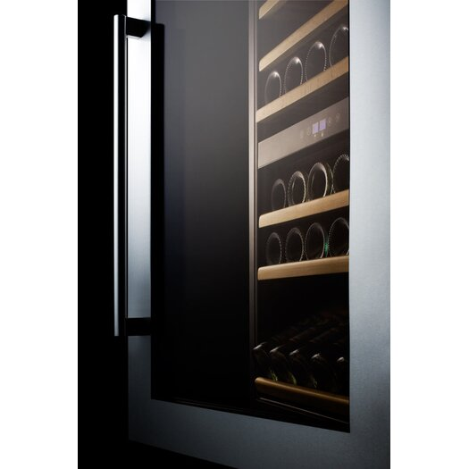 Summit Appliance 59 Bottle Dual Zone Built-In Wine Refrigerator