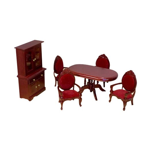 Melissa & Doug Dollhouse Dining Room Furniture