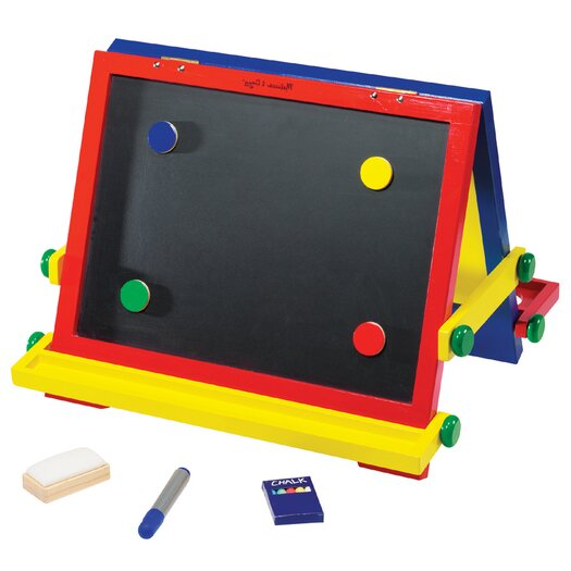 Melissa & Doug 8 Piece Magnetic Board Easel Set