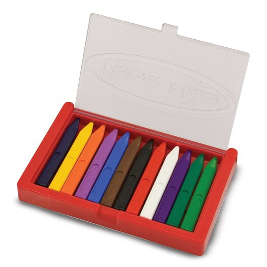Melissa & Doug Triangular Crayon Set
