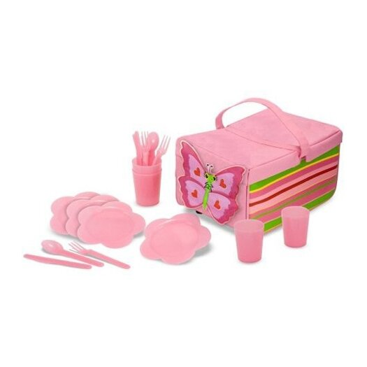 Melissa & Doug 5 Piece Bella Butterfly Picnic Set