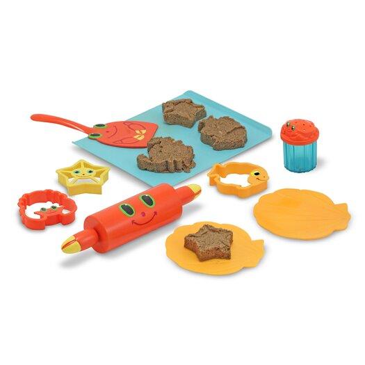 Melissa & Doug Seaside Sidekicks Sand Cookie Set