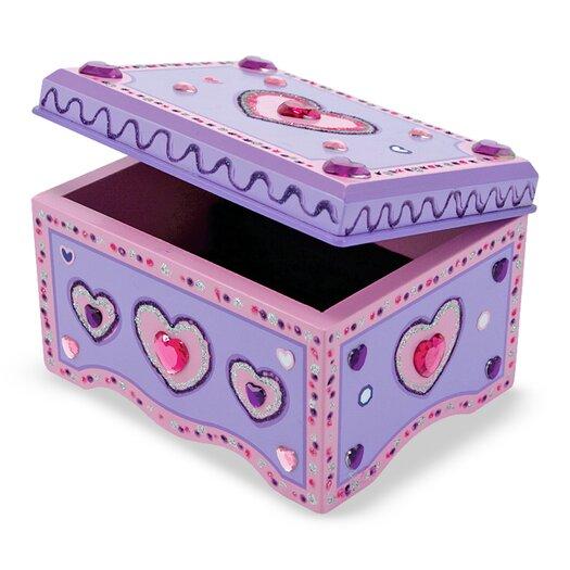 Melissa & Doug Jewelry Box DYO