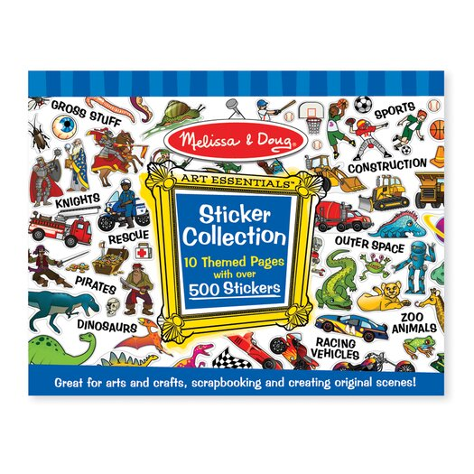 Melissa & Doug Sticker Collection in Blue