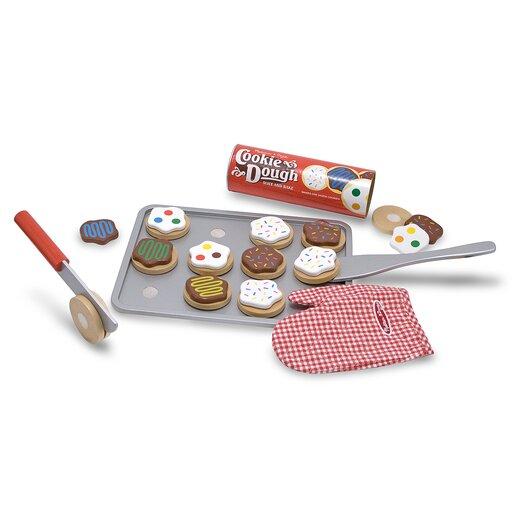 Melissa & Doug 34 Piece Cookie Baking Play Set