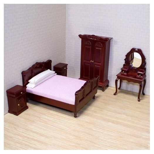Melissa & Doug Dollhouse Bedroom Furniture