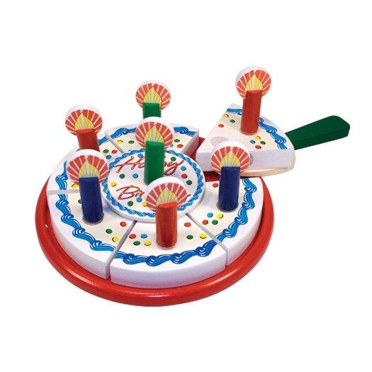 Melissa & Doug 6 Piece Birthday Party Play Set