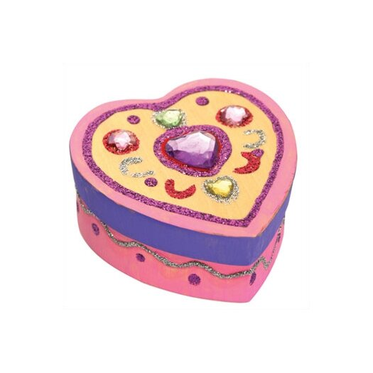 Melissa & Doug DYO Heart Box Arts & Crafts Kit