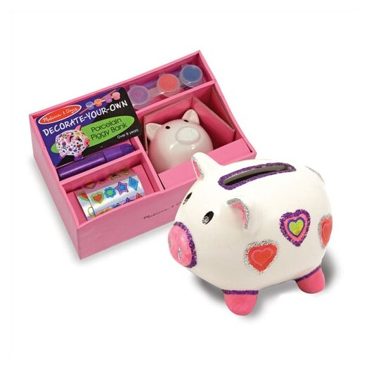 Melissa & Doug DYO Piggy Bank Arts & Crafts Kit