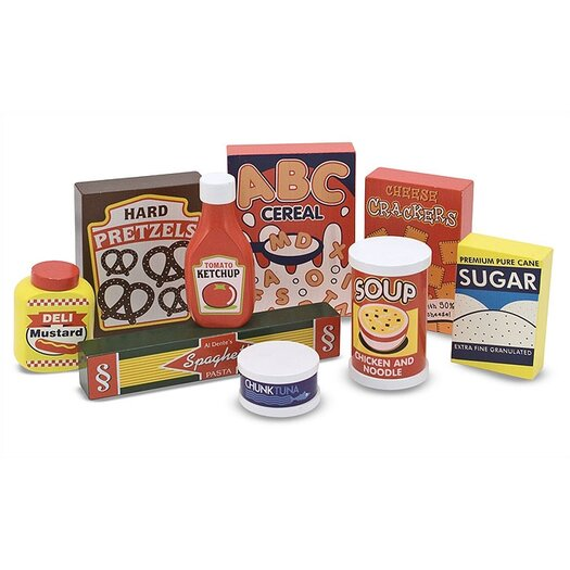 Melissa & Doug 9 Piece Dry Goods Set