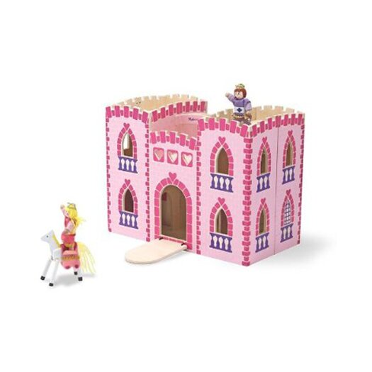Melissa & Doug Fold and Go Princess Castle