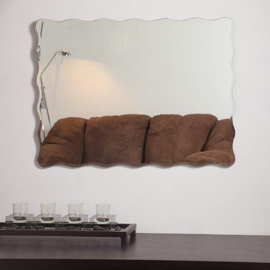 Decor Wonderland Angelina Modern Wall Wall Mirror