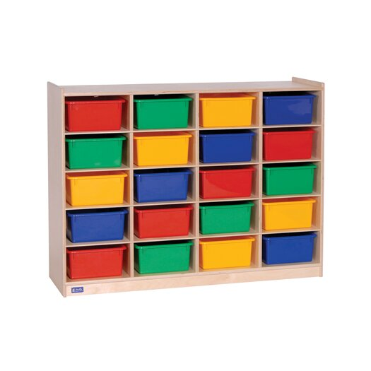 Steffy Wood Products 20 Compartment Cubby
