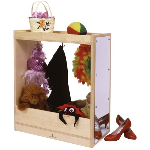 Steffy Wood Products Dress-Up Storage Unit