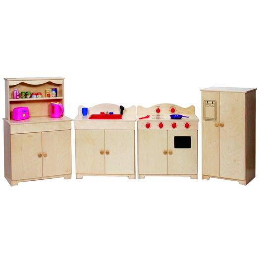 Steffy Wood Products Heirloom Kitchen Set