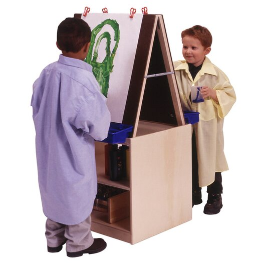 Steffy Wood Products Marker Tray Flipchart Easel