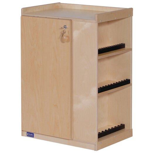 Steffy Wood Products Audio Storage Unit
