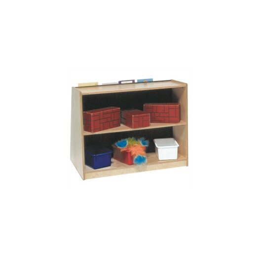 """Steffy Wood Products 28"""" Book Display and Storage Unit"""