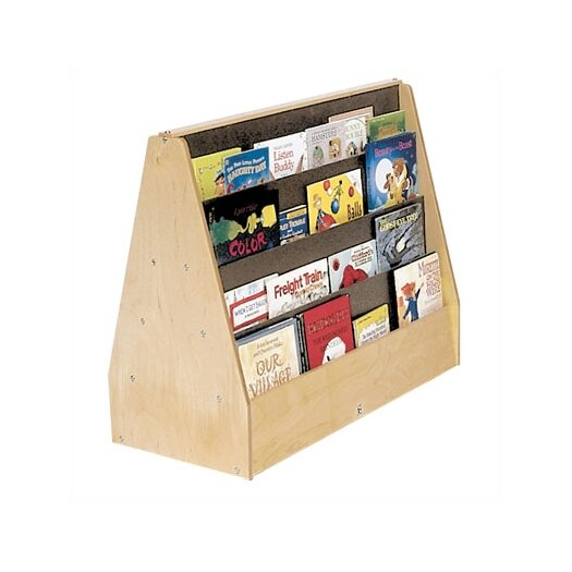 """Steffy Wood Products Double-Sided 28"""" Book Display"""