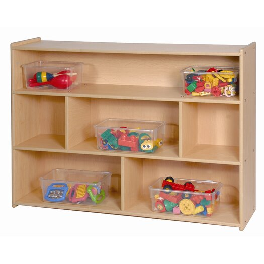 Steffy Wood Products Shelving Unit