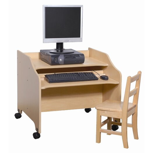 "Steffy Wood Products 26"" Computer Desk"